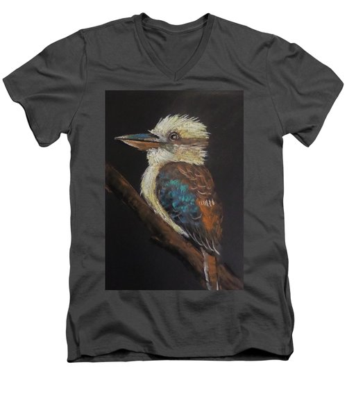 Old Man Kookaburra Men's V-Neck T-Shirt