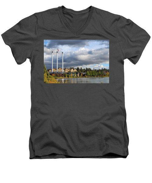 Old Mill District Men's V-Neck T-Shirt