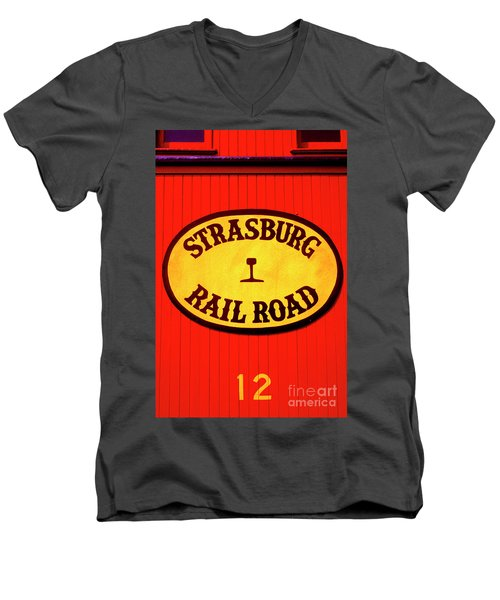 Old Number 12 Men's V-Neck T-Shirt
