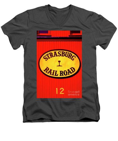 Old Number 12 Men's V-Neck T-Shirt