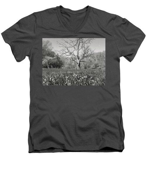 Old Oak Men's V-Neck T-Shirt