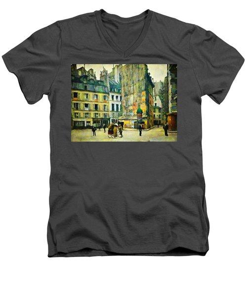 Old Paris Men's V-Neck T-Shirt