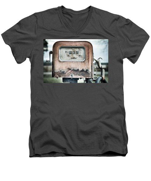 Old Pump Men's V-Neck T-Shirt