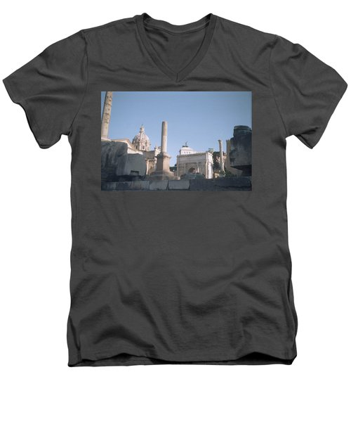 Old Rome Men's V-Neck T-Shirt