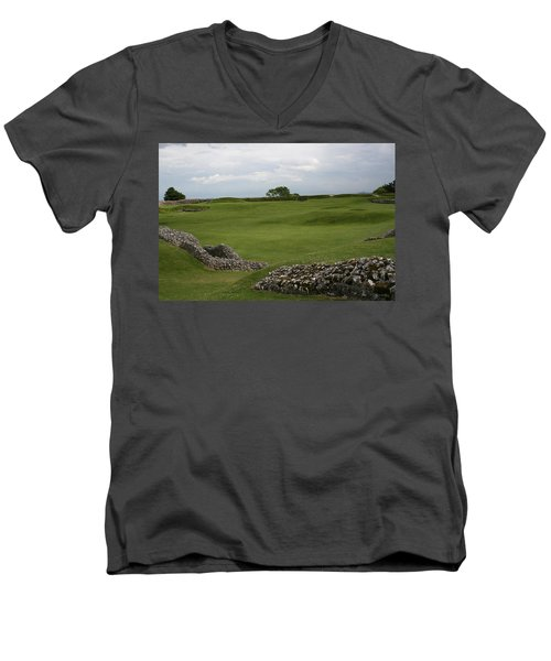 Old Sarum Men's V-Neck T-Shirt