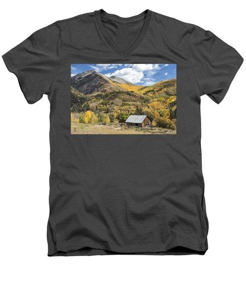 Old Shack And Equipment Men's V-Neck T-Shirt
