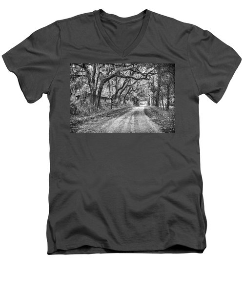 Old Sheep Farm Men's V-Neck T-Shirt