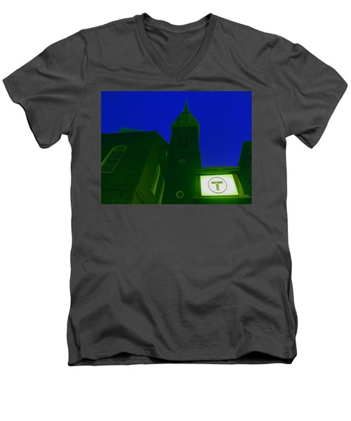 Old South Meeting House Men's V-Neck T-Shirt