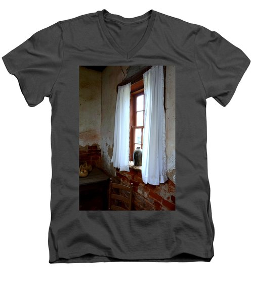 Old Time Window Men's V-Neck T-Shirt