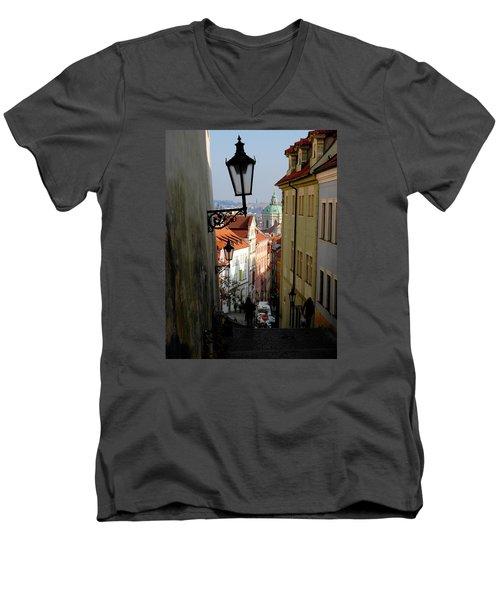 Old Town Men's V-Neck T-Shirt