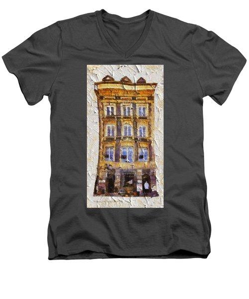 Old Town In Warsaw #21 Men's V-Neck T-Shirt