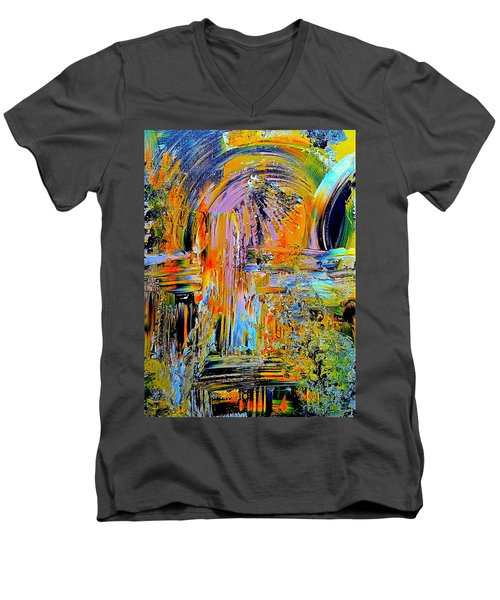 Old Town Of Nice 2 Of 3 Men's V-Neck T-Shirt