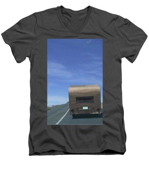 Old Trailer Men's V-Neck T-Shirt