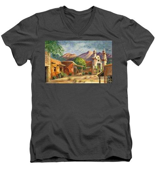 Old Tucson Men's V-Neck T-Shirt