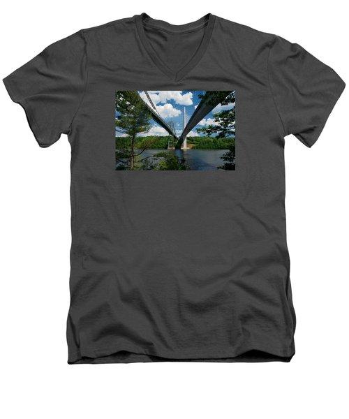 Old Vs New Men's V-Neck T-Shirt