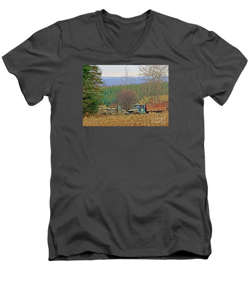 Men's V-Neck T-Shirt featuring the photograph Old Warriors by Christian Mattison