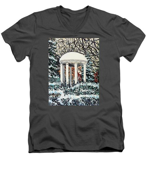 Old Well Winter Men's V-Neck T-Shirt