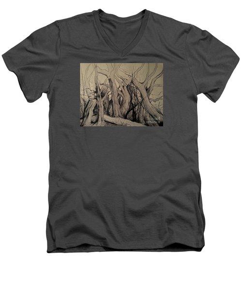 Old Woods Men's V-Neck T-Shirt