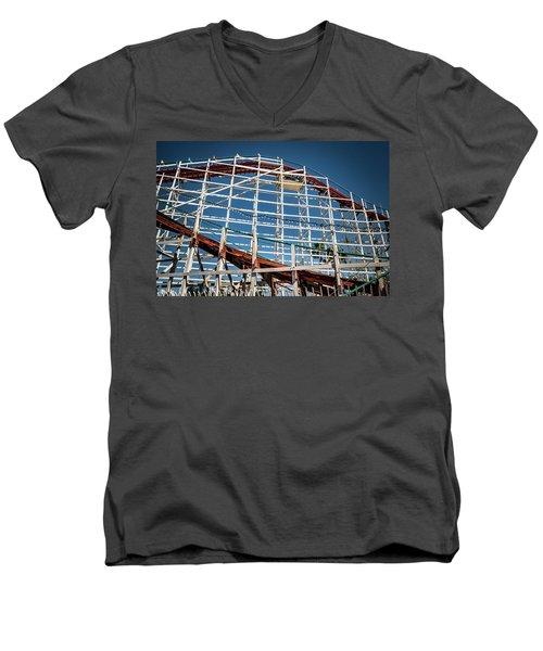 Old Woody Coaster Men's V-Neck T-Shirt