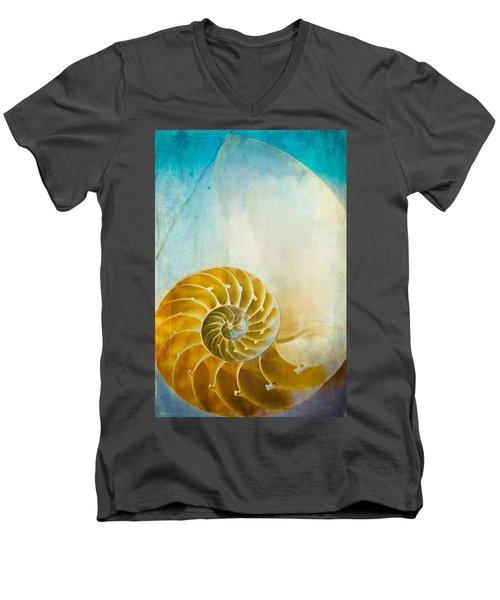 Old World Treasures - Nautilus Men's V-Neck T-Shirt