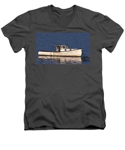 Ole Boy Painting Men's V-Neck T-Shirt