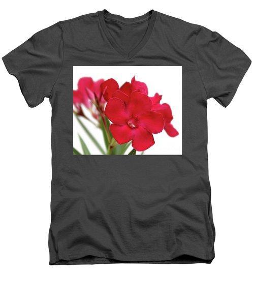 Oleander Emile Sahut 1 Men's V-Neck T-Shirt