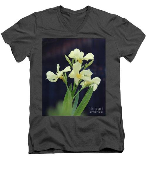 Oleander Marie Gambetta 2 Men's V-Neck T-Shirt