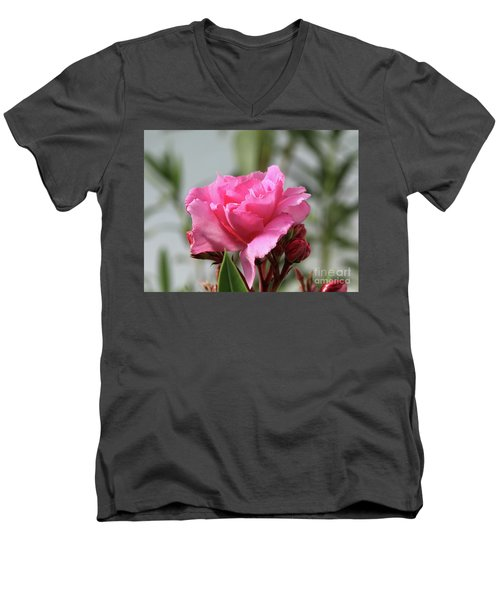 Oleander Splendens Giganteum 2 Men's V-Neck T-Shirt