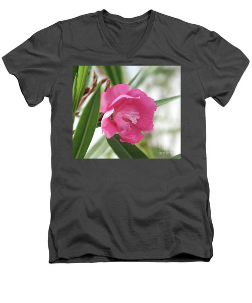 Oleander Splendens Giganteum 3 Men's V-Neck T-Shirt