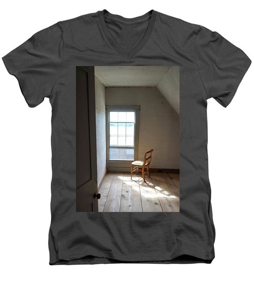 Olson House Chair And Window Men's V-Neck T-Shirt