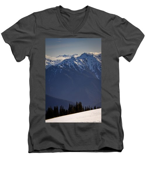 Olympic National Park Men's V-Neck T-Shirt