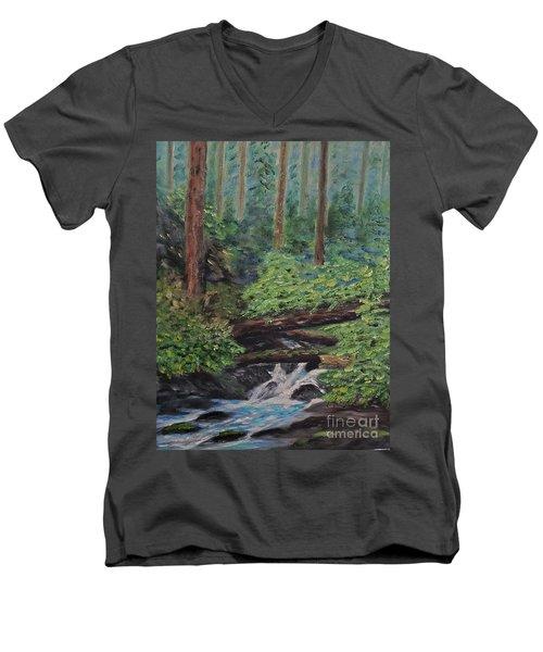 Olympic National Park Men's V-Neck T-Shirt