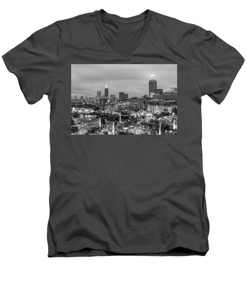 Olympic Park, Atlanta Men's V-Neck T-Shirt