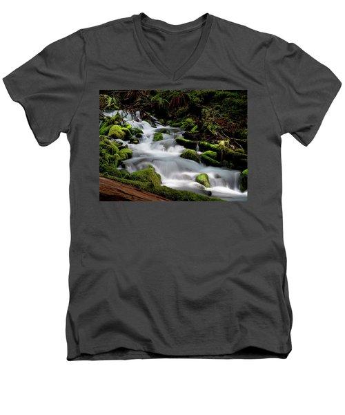 Olympic Spring Men's V-Neck T-Shirt
