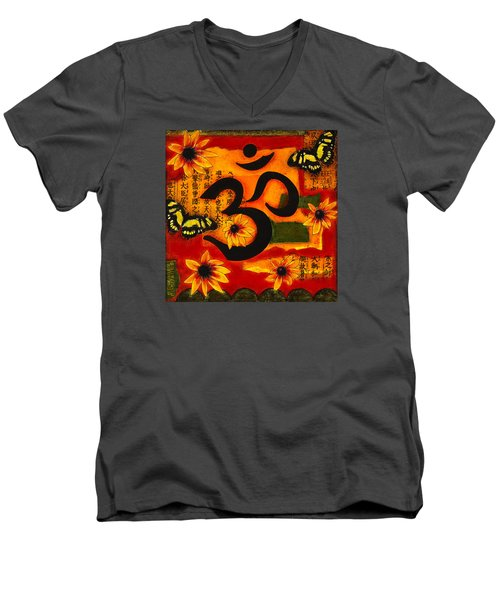 Om Men's V-Neck T-Shirt