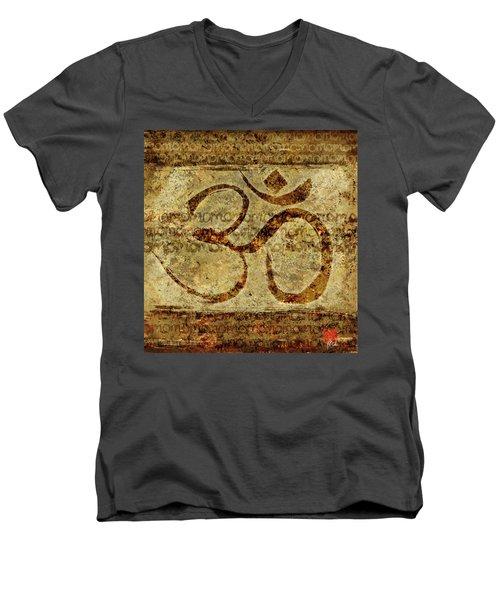 OM Men's V-Neck T-Shirt