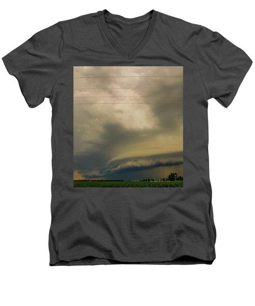 Ominous Nebraska Outflow 007 Men's V-Neck T-Shirt