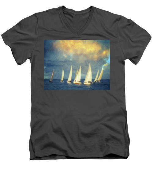 On A Day Like Today  Men's V-Neck T-Shirt