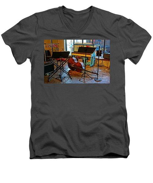 On Break Men's V-Neck T-Shirt