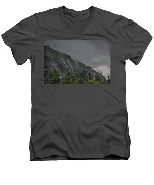 On Higher Ground Men's V-Neck T-Shirt