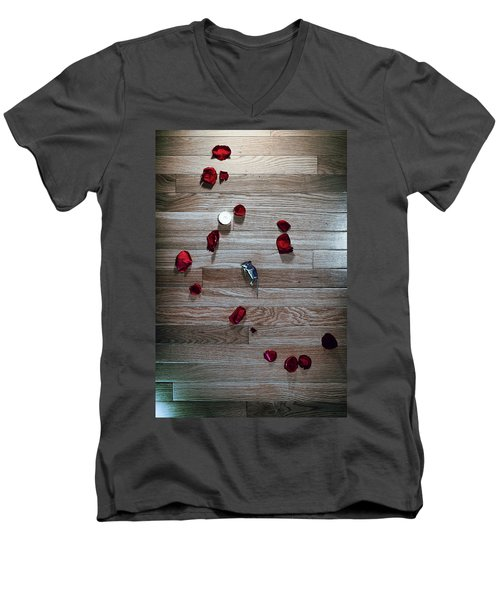 On Nature, Tragedy, And Beauty I Men's V-Neck T-Shirt