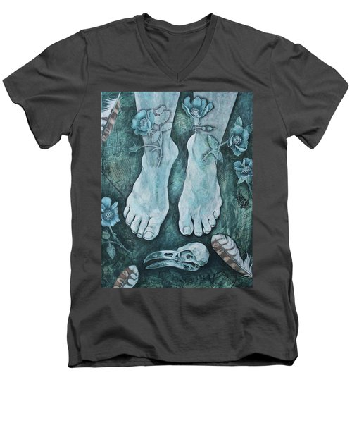 On Sacred Ground Men's V-Neck T-Shirt
