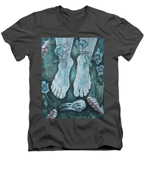 On Sacred Ground Men's V-Neck T-Shirt