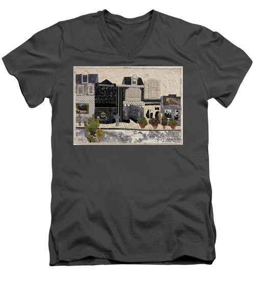On The Avenue Men's V-Neck T-Shirt