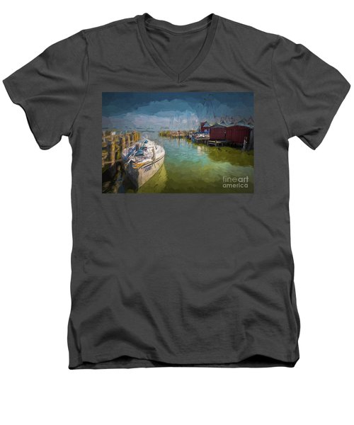 On The Baltic Sea Men's V-Neck T-Shirt