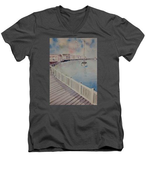 On The Bay Men's V-Neck T-Shirt