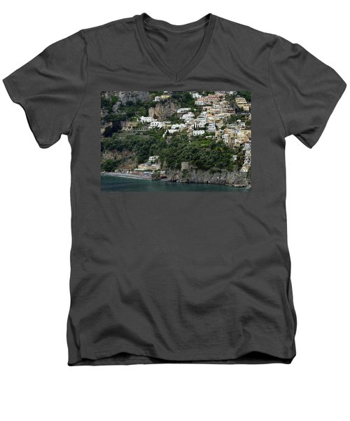 On The Coastal Road Men's V-Neck T-Shirt