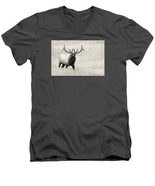 On The Fight Men's V-Neck T-Shirt