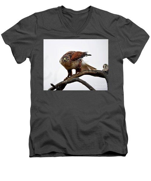 On The Hunt Men's V-Neck T-Shirt