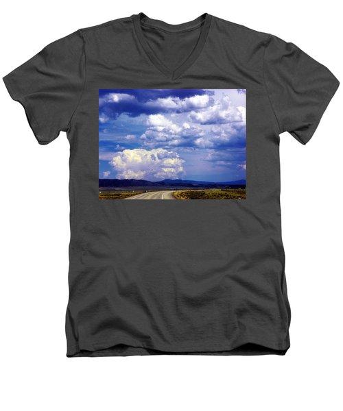 On The Road Again Men's V-Neck T-Shirt